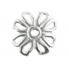 SS.925 Bead Cap Flower 12mm